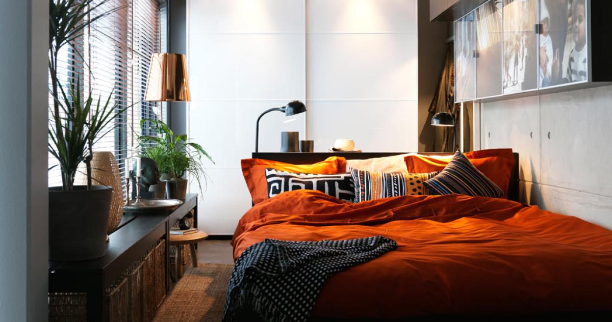10 способов обустроить маленькую спальню