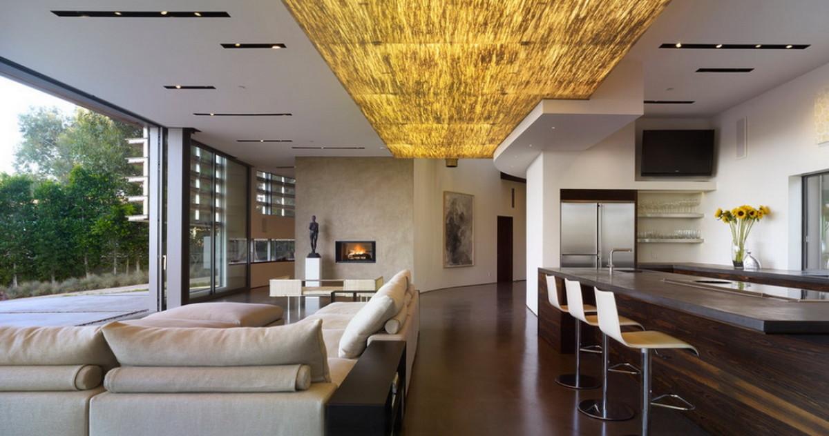 Как визуально приподнять потолок: интересные приёмы дизайнеров