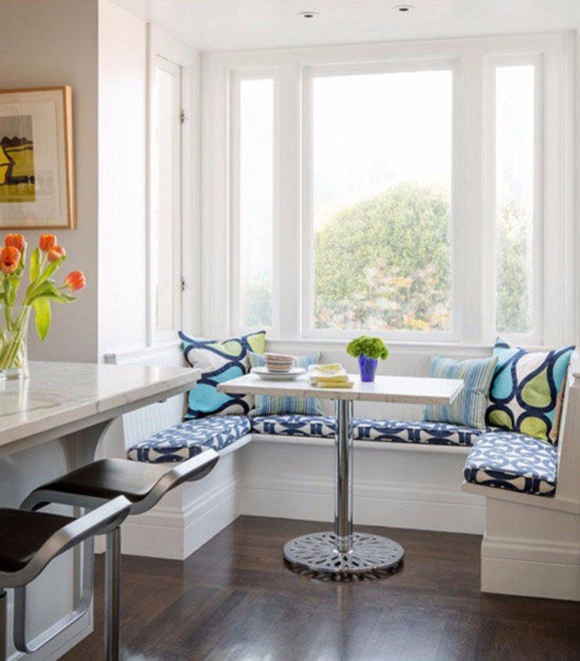 Кухня/столовая в  цветах:   Белый, Серый.  Кухня/столовая в  стиле:   Скандинавский.