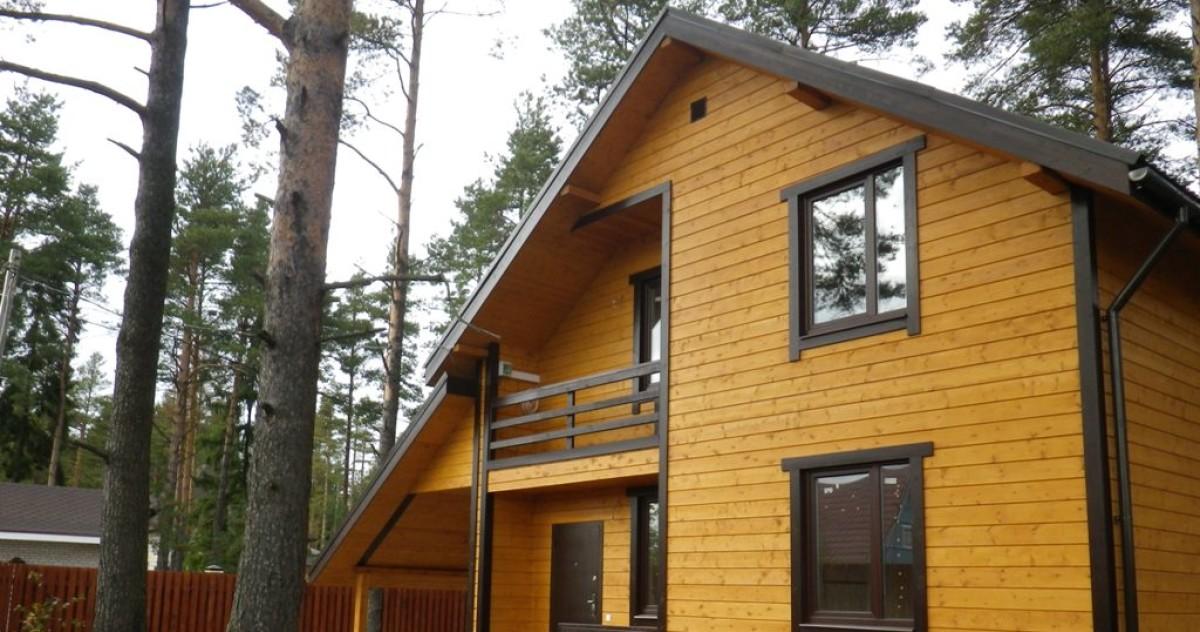 Как недорого обустроить каркасный дачный дом площадью 96 метров