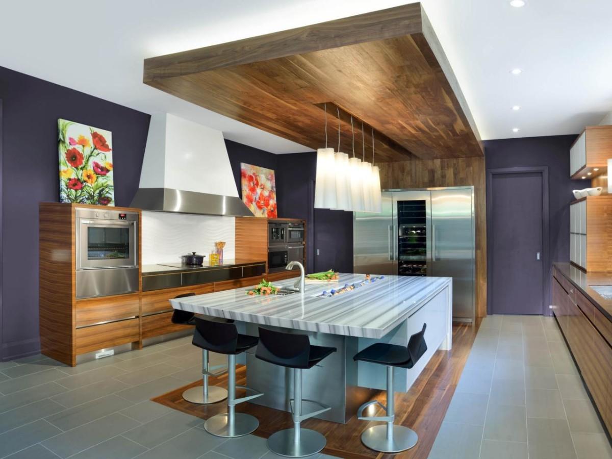 В какой цвет красить кухню: 10 популярных сочетаний