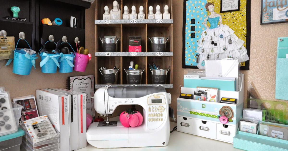 Как обустроить домашнее ателье: советы и идеи