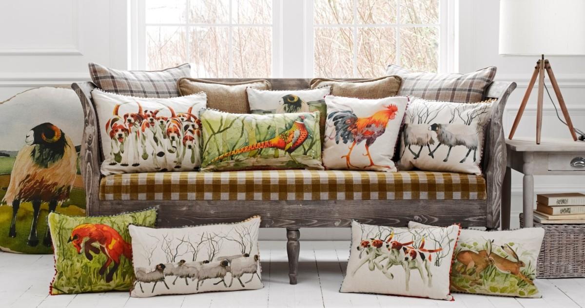 Скидки на подушки и мебель в Galleria Arben