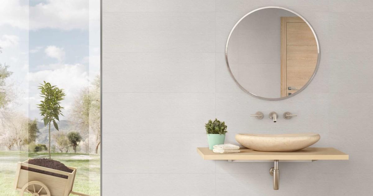 Новинки для ванной этой недели: душевые ограждения, «бумажная» керамика и алюминиевая мозаика