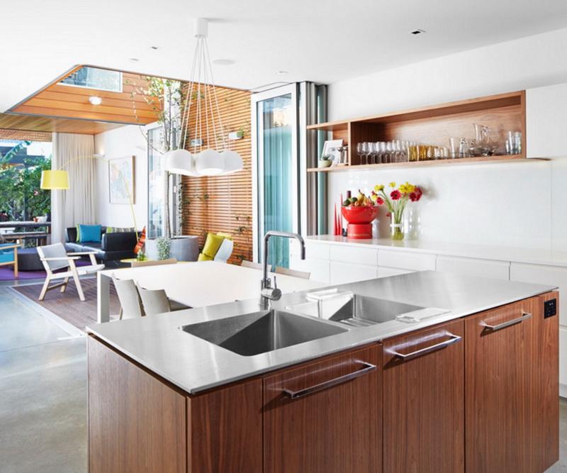 Кухня/столовая в  цветах:   Бежевый, Белый, Коричневый, Темно-зеленый.  Кухня/столовая в  стиле:   Скандинавский.
