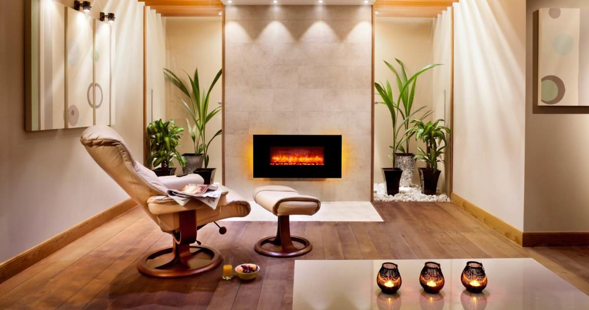 Камин в квартире: 20 идей и обзор моделей