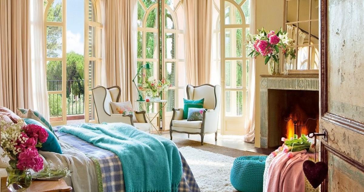 20 креативных примеров оформления окон в спальне