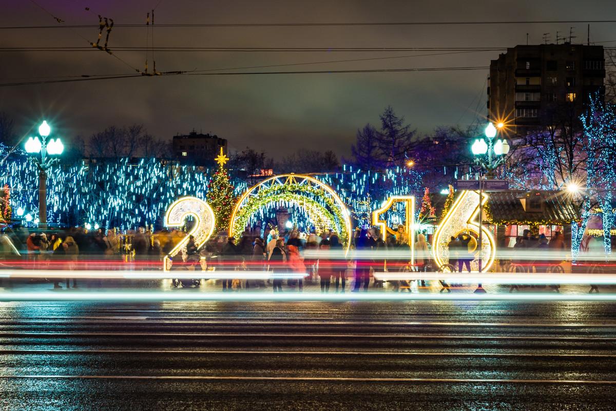 Самые яркие световые инсталляции фестиваля «Рождественский свет»