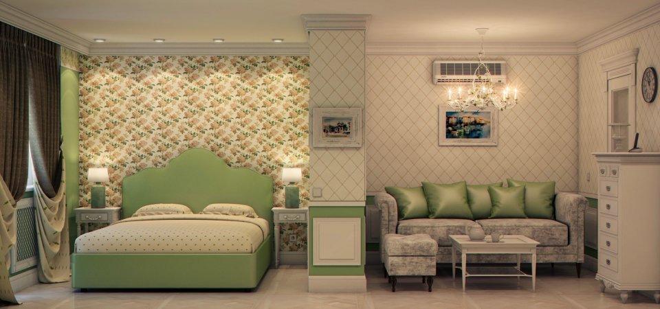 Где в однушке сделать спальню, кабинет, гардеробную: проект квартиры