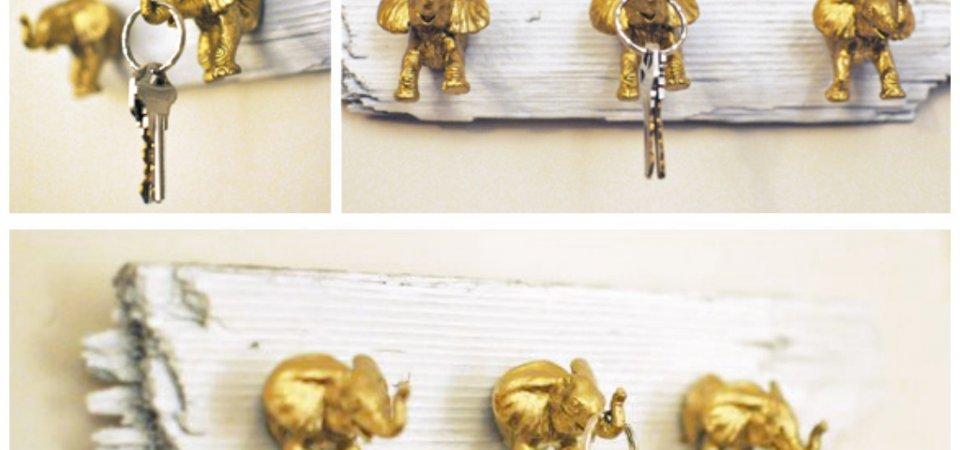 Делаем ключницу из слоников своими руками: 8 шагов к спокойствию
