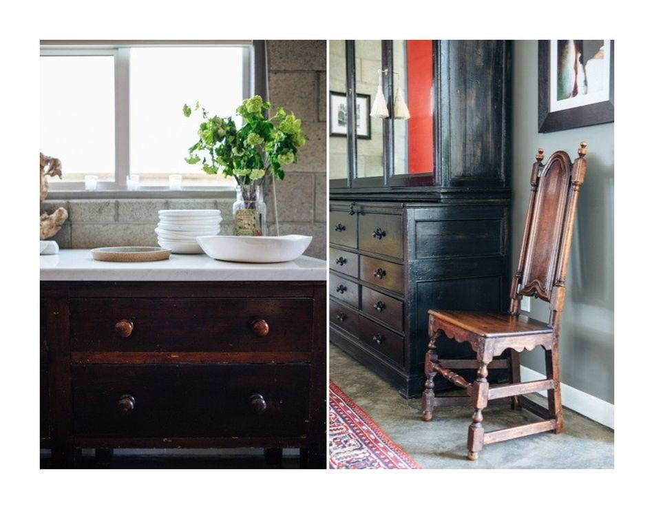 Мебель и предметы интерьера в цветах: черный, серый, светло-серый, темно-коричневый. Мебель и предметы интерьера в стилях: лофт, прованс, скандинавский стиль, эклектика.
