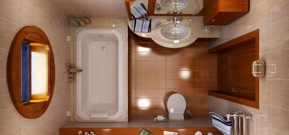 Маленькая ванная: 10 вариантов планировок и советы по обустройству