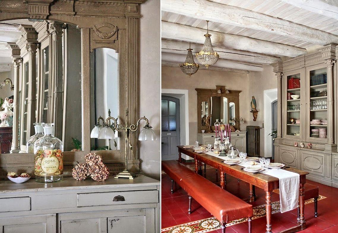 Гостиная, холл в цветах: серый, светло-серый, белый, темно-коричневый, коричневый. Гостиная, холл в стилях: французские стили, прованс.
