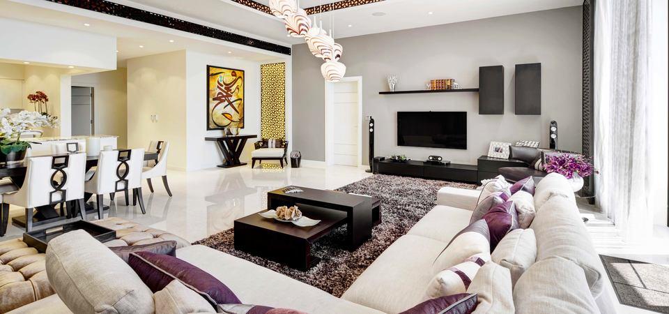 Как нынче живут в элитных интерьерах Дубая: квартира с видом на море