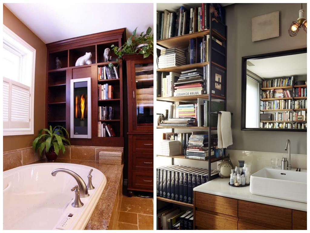 Туалет в цветах: серый, темно-коричневый, коричневый. Туалет в стиле лофт.