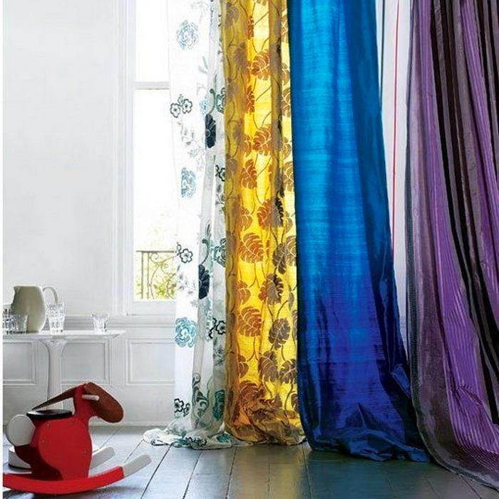 Гостиная, холл в цветах: бирюзовый, фиолетовый, светло-серый, лимонный, сиреневый. Гостиная, холл в .