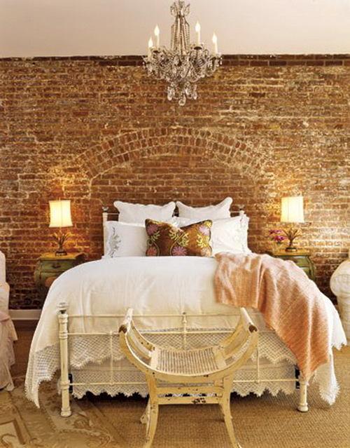 Спальня в цветах: желтый, светло-серый, белый, коричневый, бежевый. Спальня в стиле прованс.