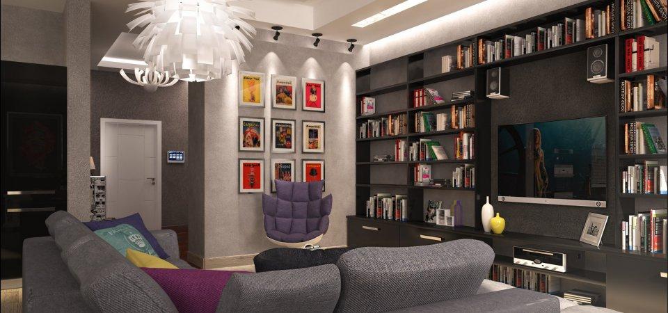 Проект недели: как грамотно спланировать большую квартиру, чтобы метры не пропали даром