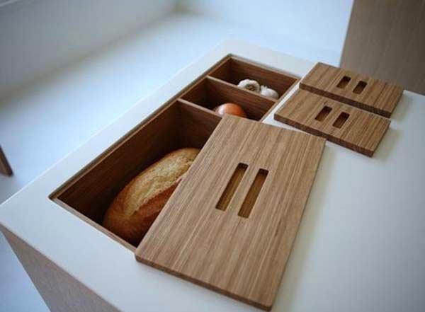 Кухня в цветах: серый, светло-серый, темно-коричневый, коричневый, бежевый. Кухня в стиле минимализм.