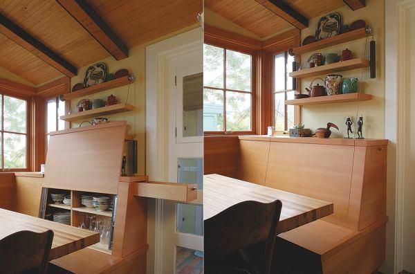 Кухня в цветах: серый, светло-серый, белый, коричневый, бежевый. Кухня в стиле кантри.