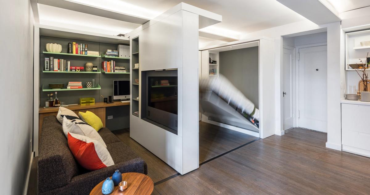 Квартира площадью 36 метров, в которой поместилось 5 комнат