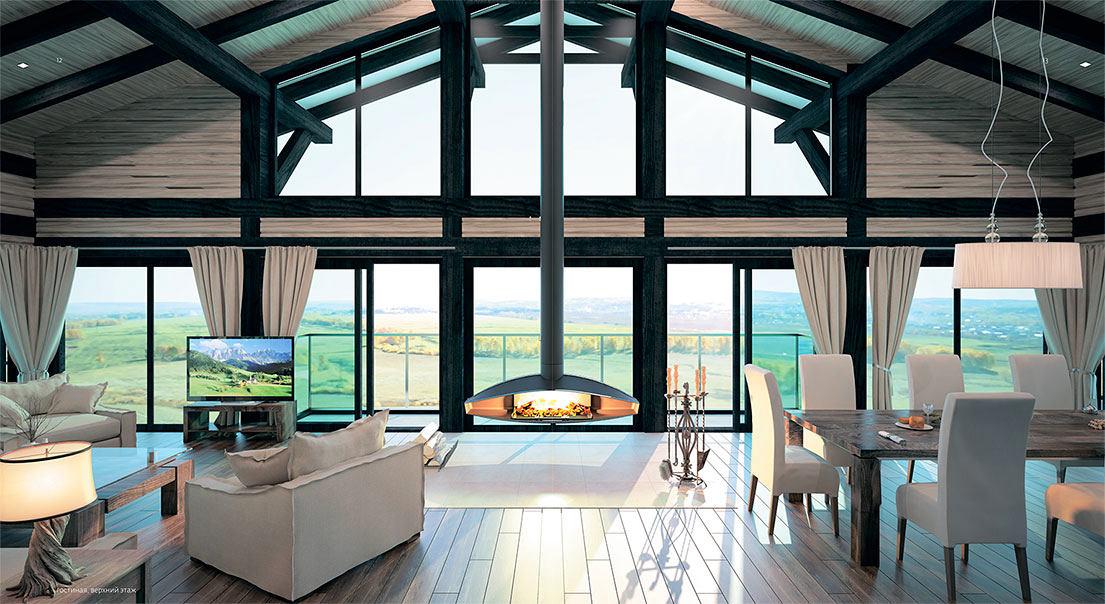 Архитектура в цветах: бирюзовый, серый, светло-серый, белый. Архитектура в стилях: скандинавский стиль.
