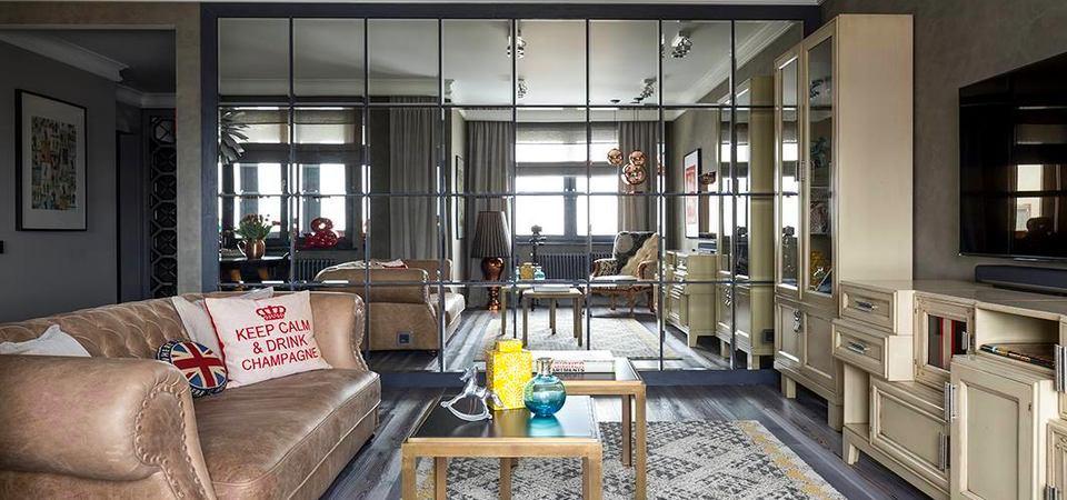 Как декорировать квартиру зеркалами: советы дизайнера Жени Ждановой