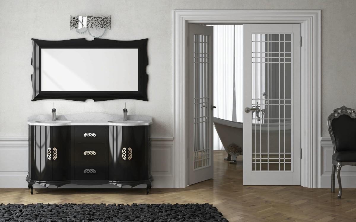 Мебель и предметы интерьера в цветах: черный, белый, бежевый. Мебель и предметы интерьера в стилях: арт-деко.
