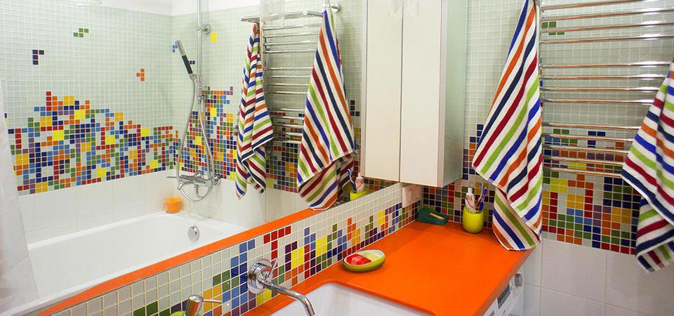 Как обустроить маленькую ванную комнату: пример из Москвы