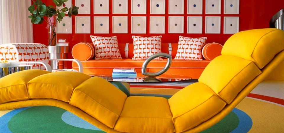 Как сделать обстановку в доме теплее: оранжевый в интерьере