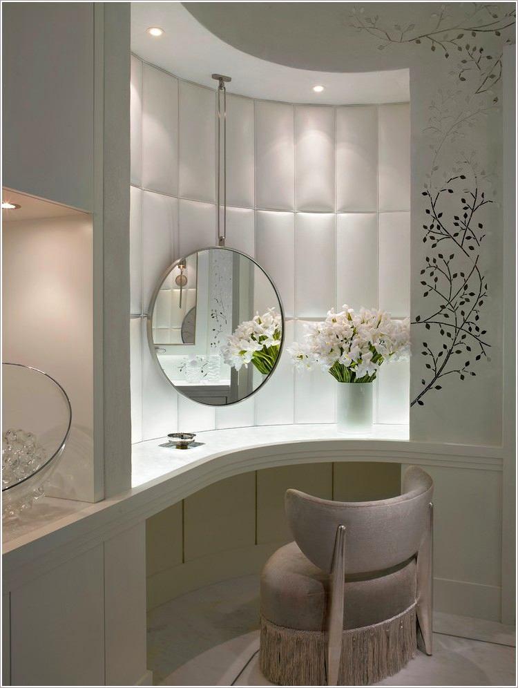 Мебель и предметы интерьера в цветах: серый, светло-серый, белый, темно-зеленый. Мебель и предметы интерьера в .