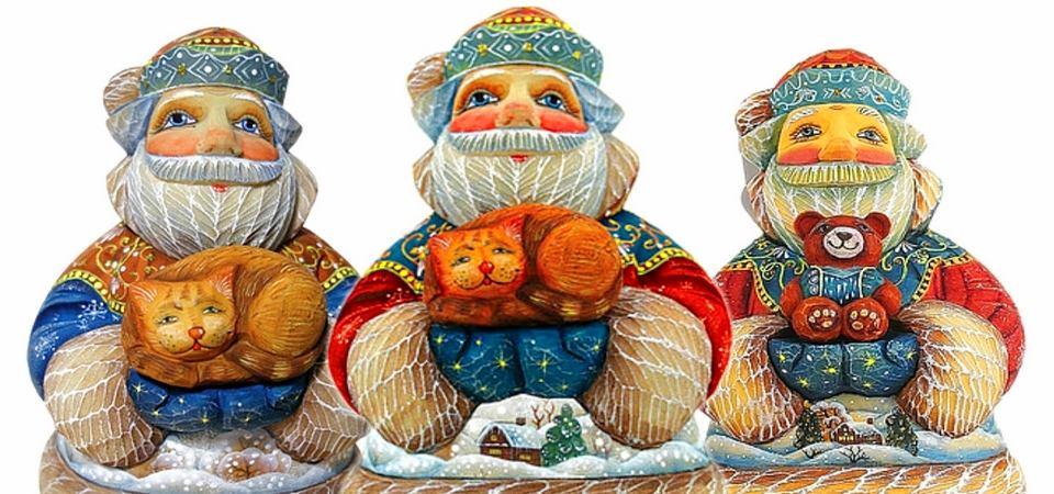 Новогодние украшения в патриотическом стиле: 10 сюжетов на тему России