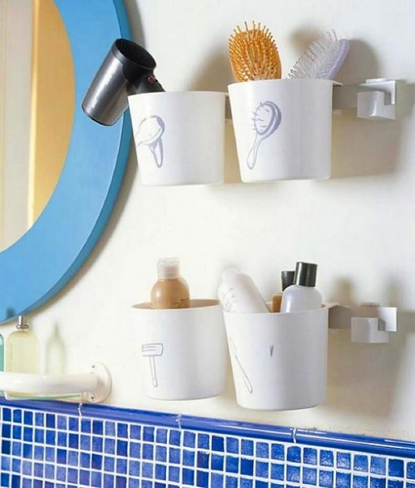 Декор в цветах: голубой, серый, светло-серый, белый. Декор в стиле эклектика.