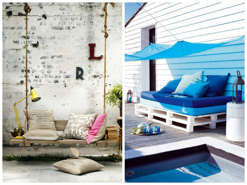 Мебель и предметы интерьера в цветах: бирюзовый, черный, серый, светло-серый. Мебель и предметы интерьера в стиле экологический стиль.