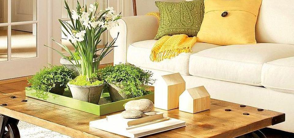 Как создать уют в гостиной: 4 правила идеального журнального столика