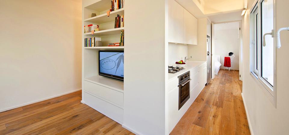 Как спланировать свою 40-метровую квартиру, чтобы ещё место осталось