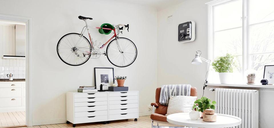 Где хранить велосипед: советы и идеи