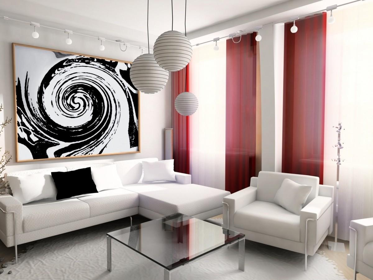 Гостиная, холл в цветах: черный, серый, белый, коричневый. Гостиная, холл в .