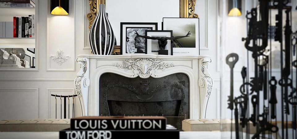Образец для подражания: идеальный чёрно-белый интерьер в Париже