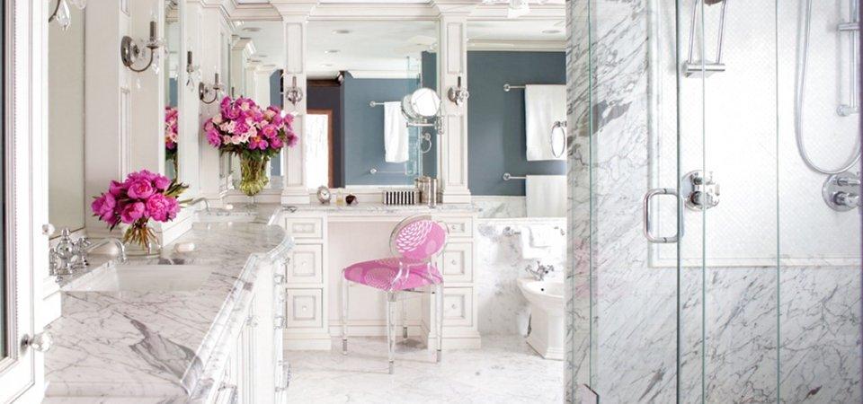 Отделка ванной комнаты: 8 видов материалов с плюсами и минусами