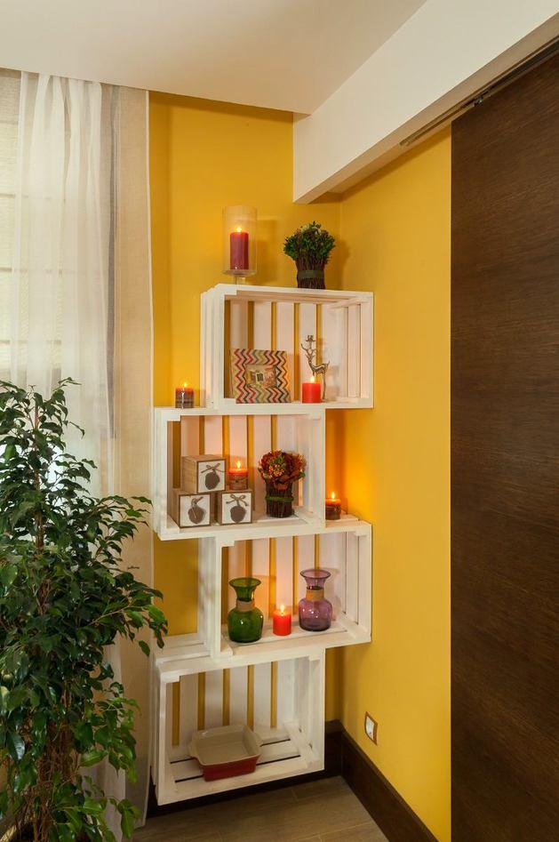 Мебель и предметы интерьера в цветах: желтый, белый, темно-коричневый, коричневый, бежевый. Мебель и предметы интерьера в стиле экологический стиль.