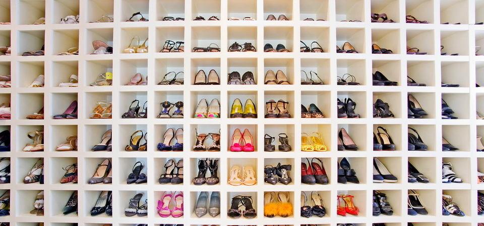 Как хранить женские туфли: 10 дизайн-хаков, 20 идей