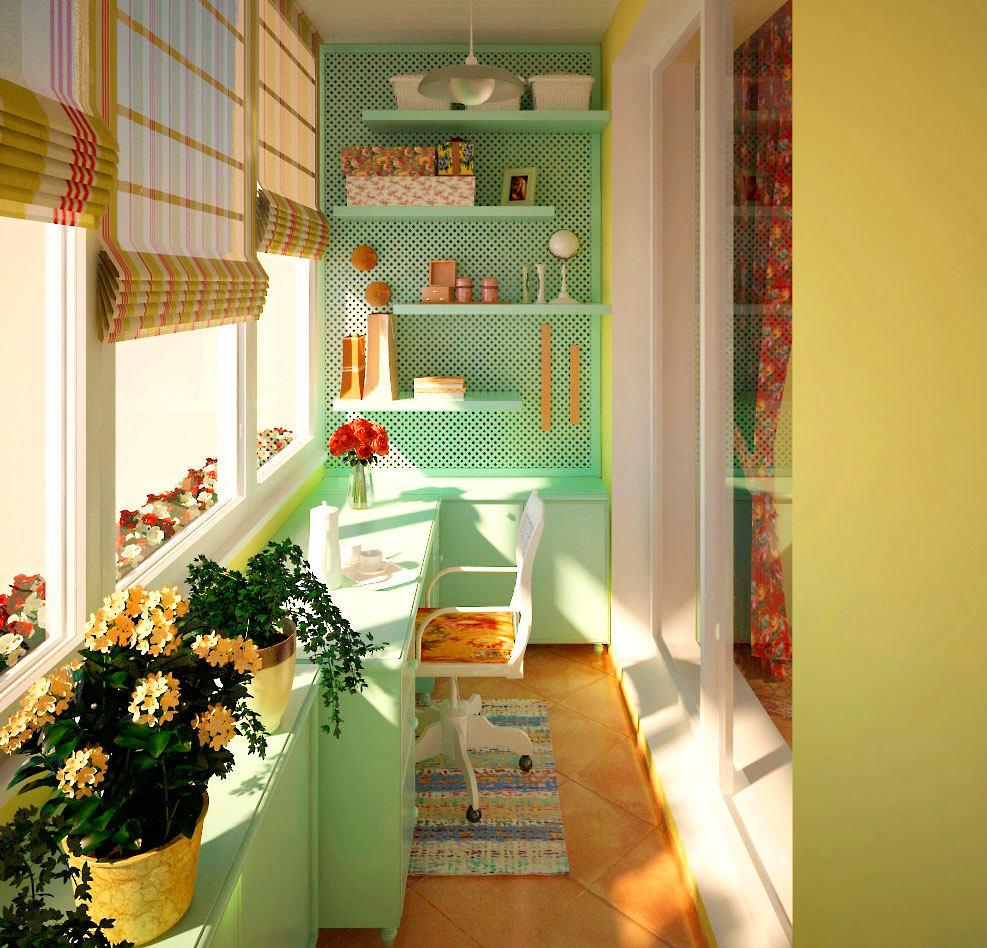 Балкон, веранда, патио в цветах: светло-серый, белый, салатовый, бежевый. Балкон, веранда, патио в стилях: американский стиль.