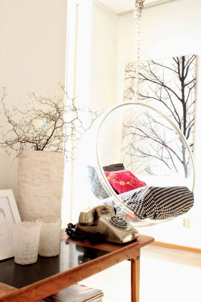Мебель и предметы интерьера в цветах: желтый, серый, светло-серый. Мебель и предметы интерьера в стиле скандинавский стиль.