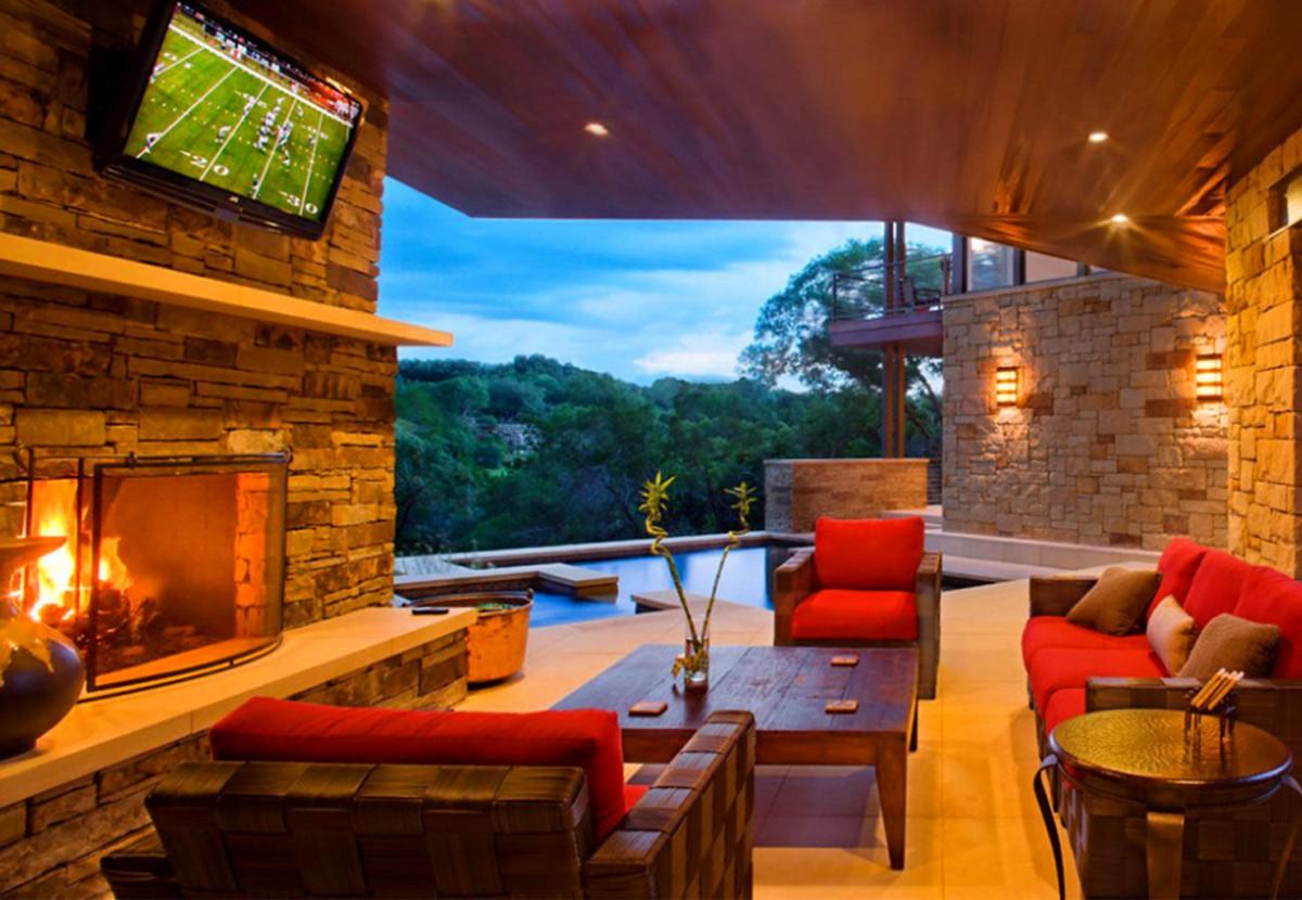 Балкон, веранда, патио в цветах: бордовый, темно-коричневый, коричневый. Балкон, веранда, патио в стилях: экологический стиль, неоклассика.