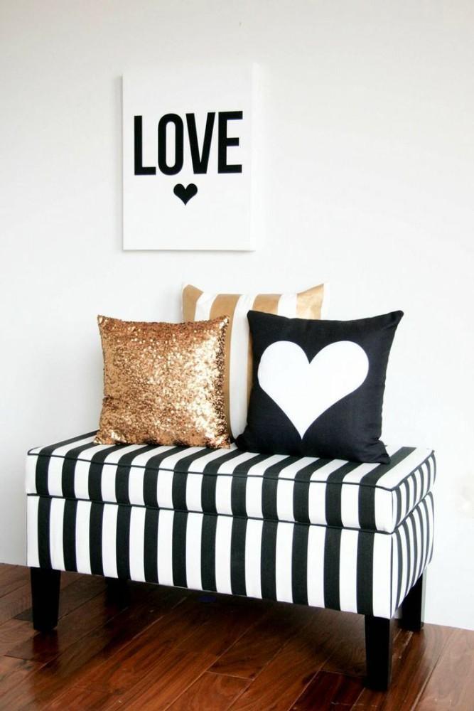 Мебель и предметы интерьера в цветах: желтый, черный, серый, светло-серый, бежевый. Мебель и предметы интерьера в стиле скандинавский стиль.