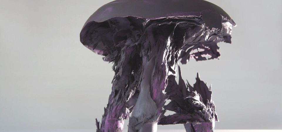 Стул-гриб. Притяжение