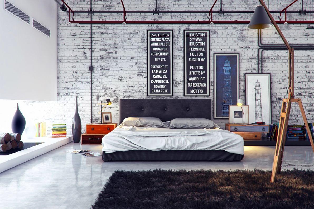 Мебель и предметы интерьера в цветах: фиолетовый, черный, серый, белый. Мебель и предметы интерьера в стиле лофт.