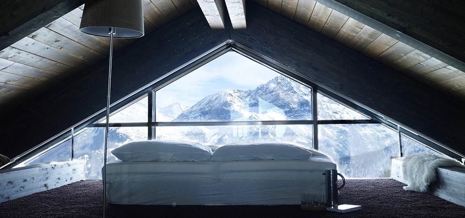 Наедине с заснеженными горами: уютное шале Camelot