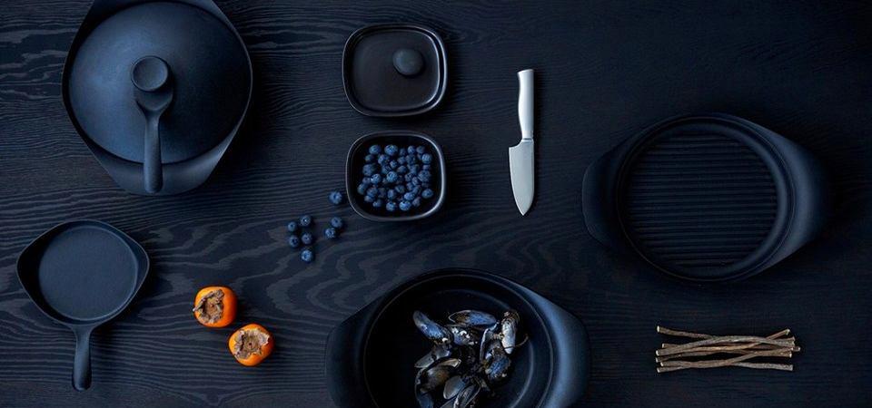 40 кухонь, которые заставят вас иначе взглянуть на чёрный цвет